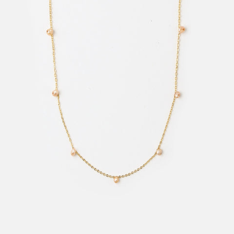 Fine Pearl Drop Necklace