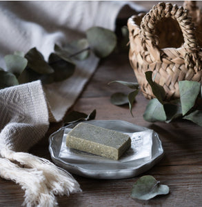 Green Facial Exfoliating Clay Bar