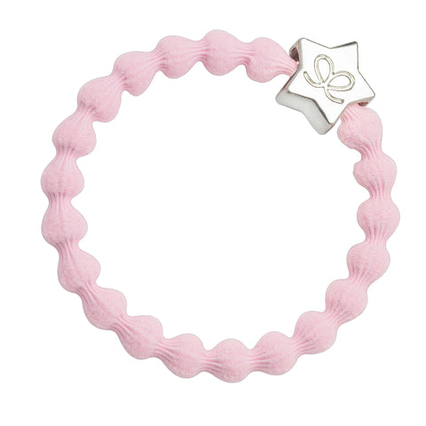 Bangle Band - Soft Pink, Silver Star