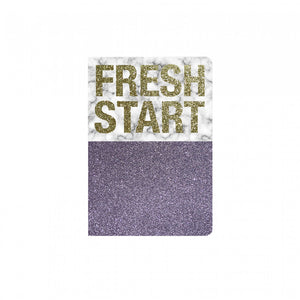 Glitter Notebook - Fresh Start