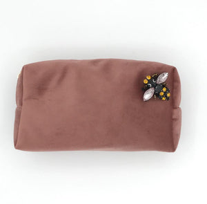Make-Up Bag - Dusky Pink, Large