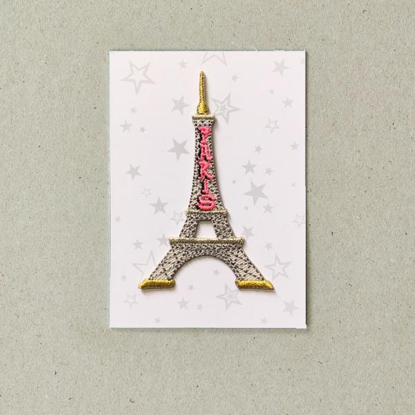 Eiffel Tower Iron-on Patch