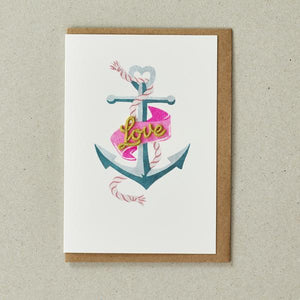 Valentines Anchor Card