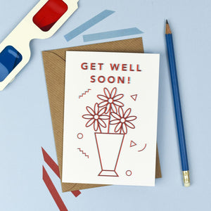 3D Get Well Soon Card