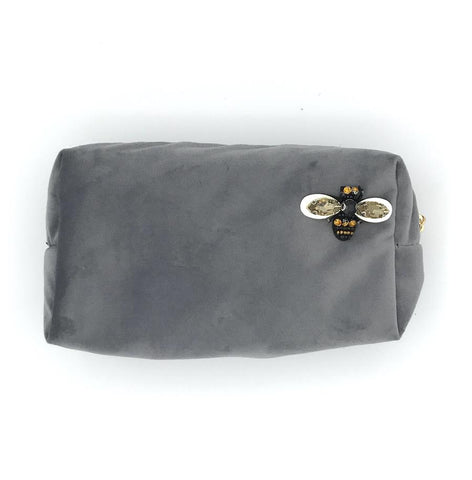Make-Up Bag - Grey, Large