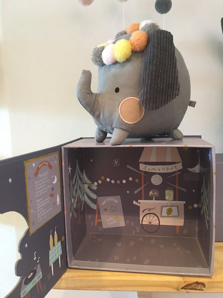 Toy Elephant with Giftbox