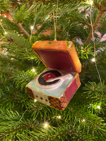Record Player Christmas decoration