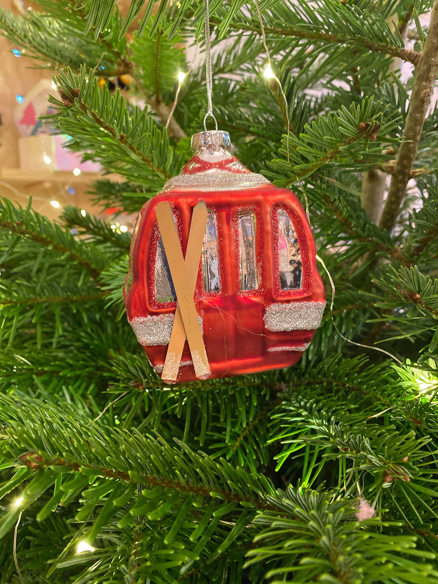 Ski Lift Bauble
