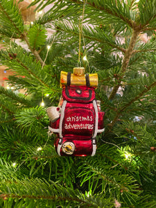 Christmas Backpack Decoration