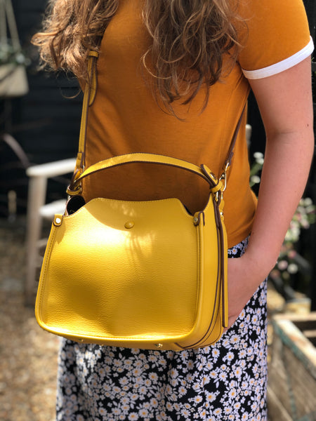 Peggy Handbag - Yellow