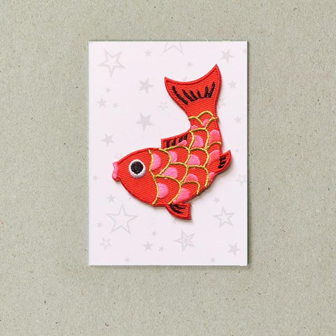 Iron On Patch - Koi Fish