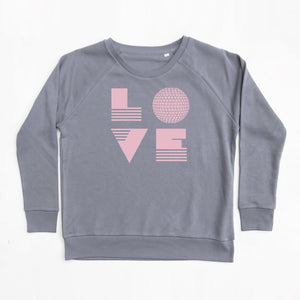 Love Disco Ball Sweatshirt