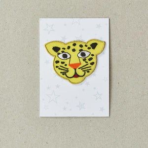 Leopard Iron-on Patch