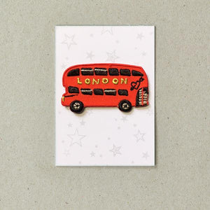 London Bus Iron-on Patch