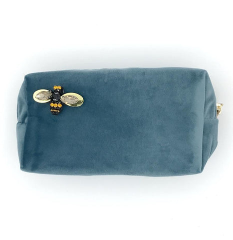 Make-Up Bag - Malibu Blue, Large