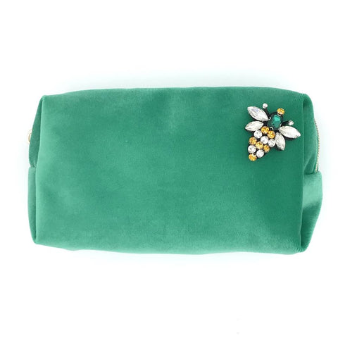 Make-Up Bag - Marine Green, Large