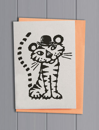 Tiger Quirky Pet Card