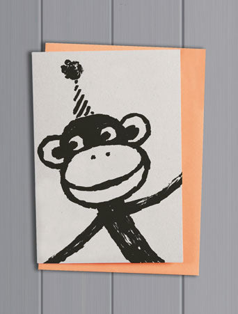 Monkey Quirky Pet Card