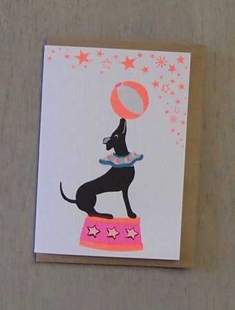 Dog Confetti Pet Card