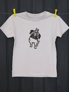 Pug Organic Cotton T-Shirt