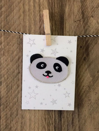 Panda Iron-on Patch