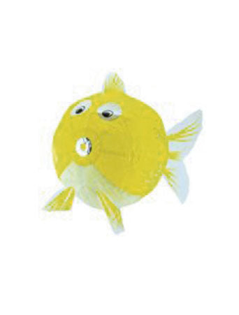 Large Yellow Fish Japanese Paper Balloon
