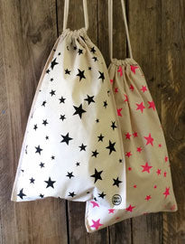 Drawstring Star Bag