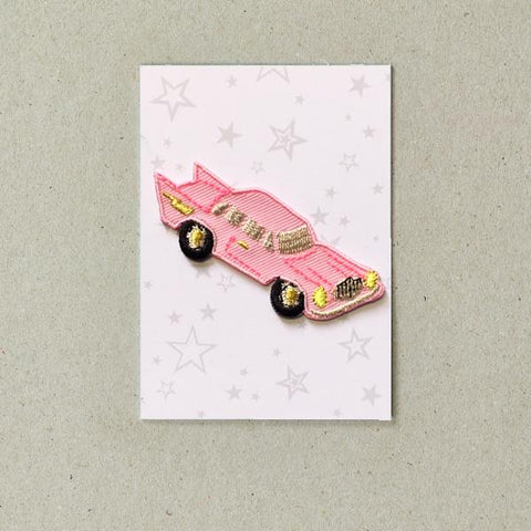 Pink Cadillac Iron-on Patch