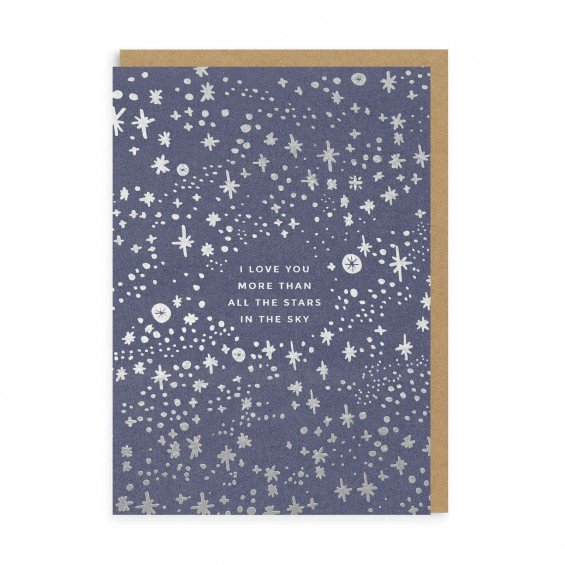 Stars in the Sky Greeting Card