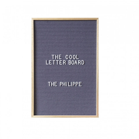 Philippe Letterboard - Grey