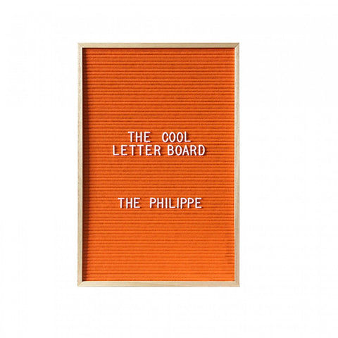Philippe Letterboard - Orange