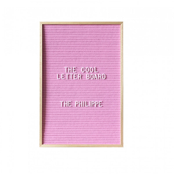 Philippe Letterboard - Pink
