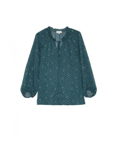 Becky Blouse Green