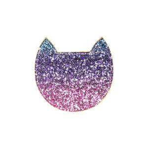 Rainbow Glitter Cat Purse