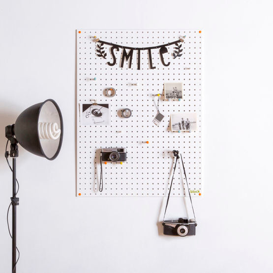 Large Pegboard - White