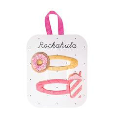 Donut and Milkshake Glitter Clips