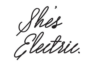 She's Electric Print