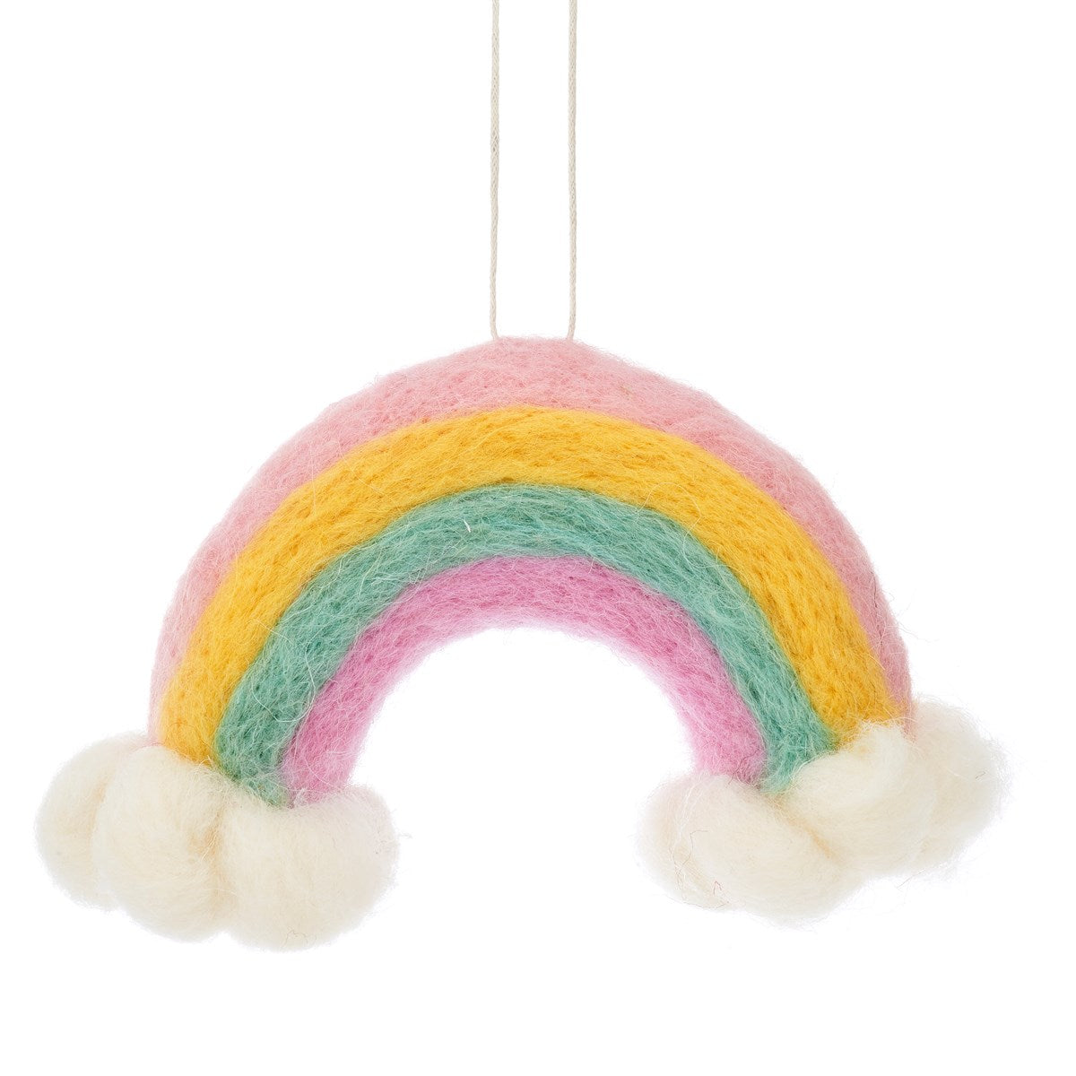 Felted Rainbow