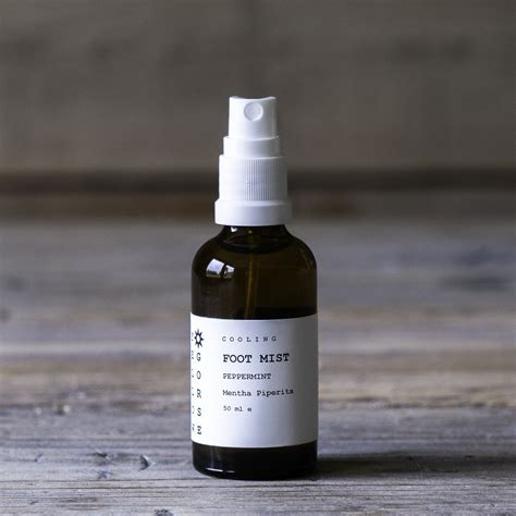 Peppermint Cooling Foot Mist