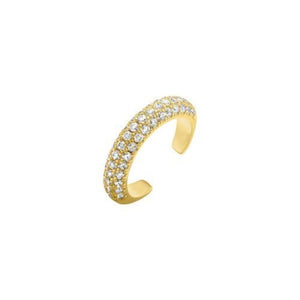 Gold Diamond Earcuff