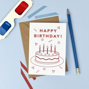 3D Happy Birthday Card