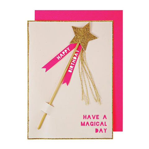 Magic Wand Greeting Card