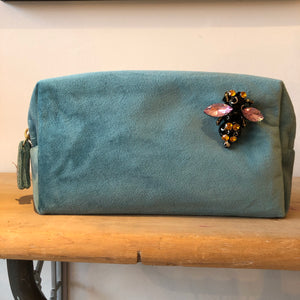 Bag: Make-Up Bag Large, Duck Egg