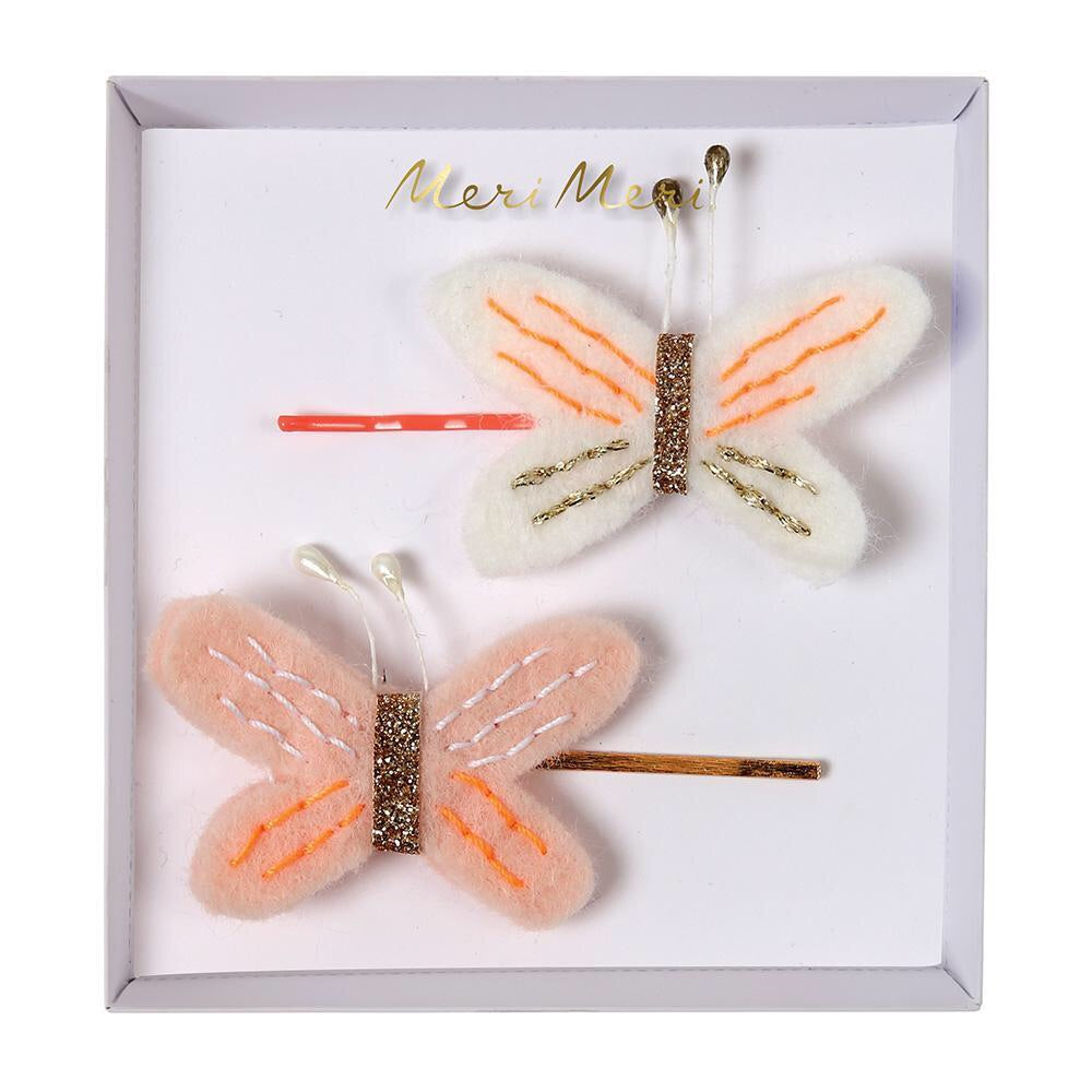 Butterfly Hair Slides