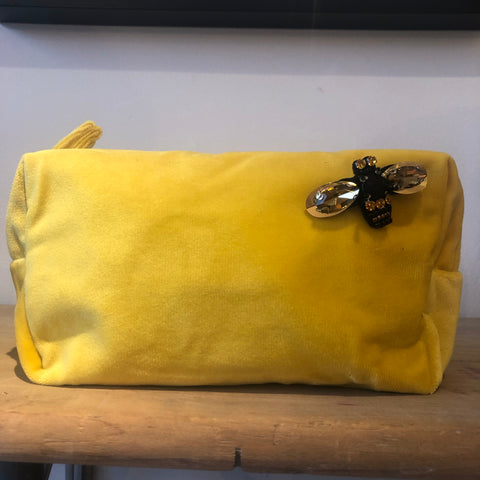 Make-Up Bag - Yellow, Large