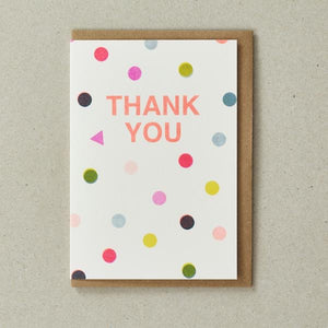 Riso Thank You Card