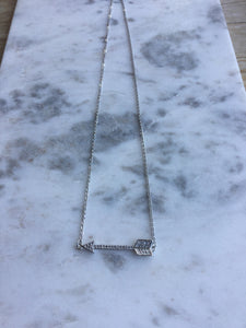 Sparkly Arrow Necklace