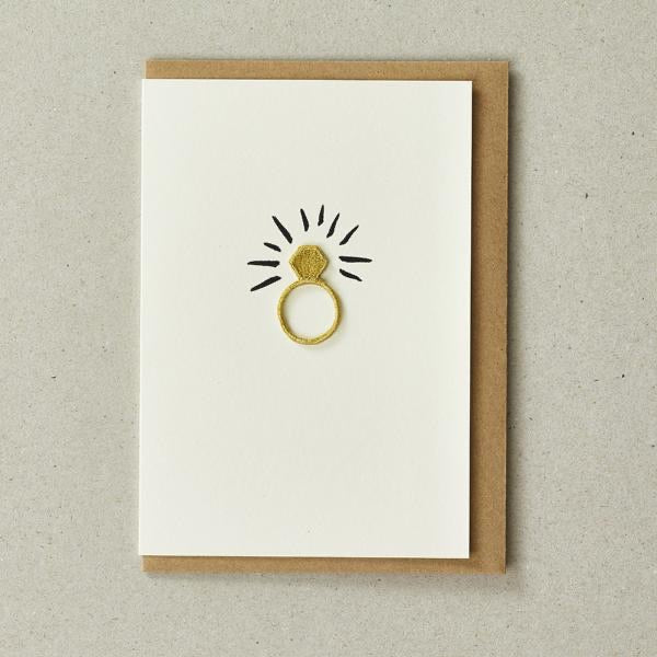 Iron on Charm Card - Ring