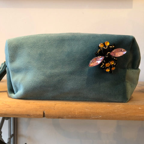 Bag: Make-Up Bag Small, Duck Egg