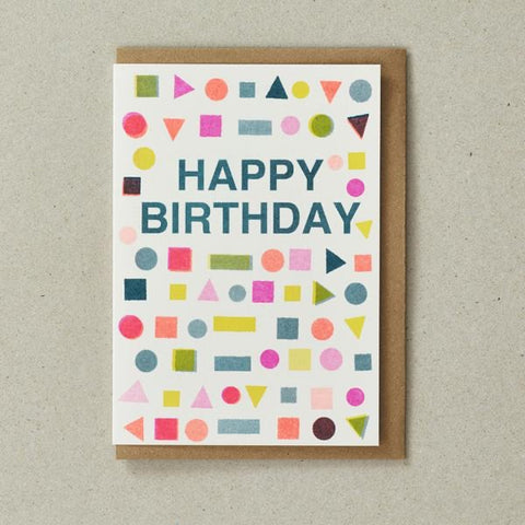 Riso Card - Happy Birthday Mix
